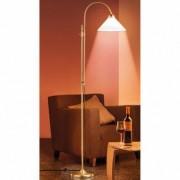 Berliner Messing-Stehlampe, Antik-Finish