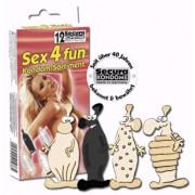 Preservativos Secura Sex 4 Fun (12 Un)