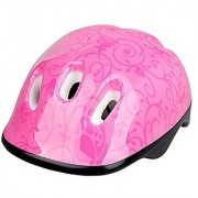 Kids Toddlers Bike Helmet Cycling Riding Biking Skating Roller Skating Helmets Youth Multi-Sports Safty Lovely Bicycle Helmet for Child-Pink Flower