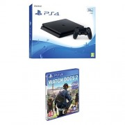 PlayStation 4 500 Gb D Chassis Slim + Watch_Dogs 2