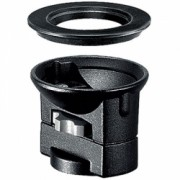 Manfrotto 325N - adaptor half ball 75 / 100mm