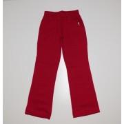 Pantaloni trening fete rosu inchis kapan