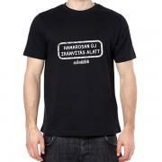 Hamarosan új irányítás alatt - Tréfás póló