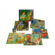 Blocchi ABA Little Red Riding Pictures cappuccio (20 pezzi)