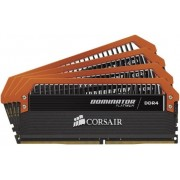 Memorii Corsair Dominator Limited Edition Orange DDR4, 4x4GB, 3400MHz, CL16
