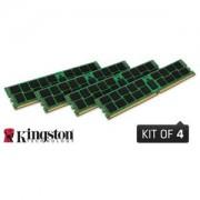 Memorie Kingston ValueRAM 64GB (4x16GB) DDR4, 2133MHz, PC4-17000, CL15, ECC Registered, Quad Channel Kit, KVR21R15D4K4/64