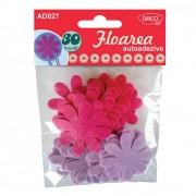Pasla autoadeziva model floare Daco art AD027