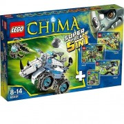 Lego Legends of Chima 66491 Superpack 5 in 1 (70126 + 70128 + 70129 + 70130 + 70131)