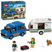 City - Busje & caravan