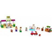 Set Constructie Lego Juniors Valiza Supermarket