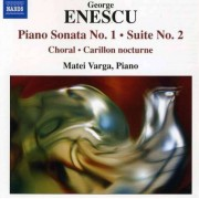 G. Enescu - Piano Sonata No.1/ Piano S (0747313212071) (1 CD)