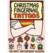 Christmas Fingernail Tattoos by Robbie Stillerman