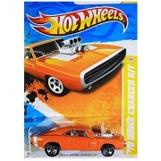 2011 Hot Wheels '70 Dodge Charger R/T Orange #42/244