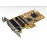 Sunix SER5456PH Serial 4-port High Speed PCI-E Card (LP, Power)