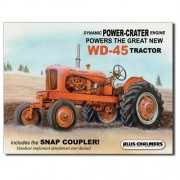 """""""Sign - Allis Chalmers WD45 Tractor"""""""