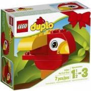 Конструктор ЛЕГО ДУПЛО - Моята първа птичка - LEGO DUPLO, 10852