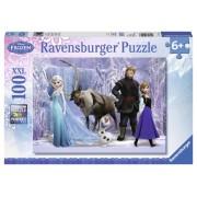 Puzzle Frozen, 100 piese, RAVENSBURGER Puzzle Copii