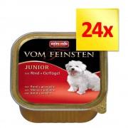 Animonda Zestaw mieszany Animonda vom Feinsten, 24 x 150 g - Junior, 2 smaki