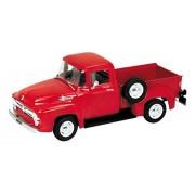 WELLY recogida 1/18 Ford F-100 1956 Rojo