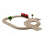Plan Toys Plan City Standard Road &Amp; Rail Set