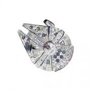 IMC Toys 720,305 - Star Wars: Millennium Falcon, Nave spaziale leggera da lanciare