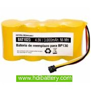 Batería de reemplazo para Scopemeter 124