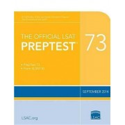 The Official LSAT Preptest 73 by Law School Admission Council