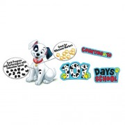 Eureka 101 Dalmatians Spot On Counting Bulletin Board Set