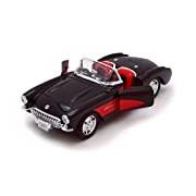 """Welly """"Chevrolet Corvette 1957"""" Car (Black)"""