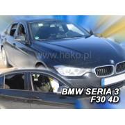 Deflektory komplet 4 ks - BMW 3 sedan (F30), 4D, 2012-