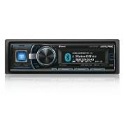Alpine CDA-137BTI Radio para coches (USB, MP3, Bluetooth, CD-R), negro