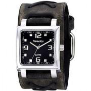 Nemesis Unisex 516FXB-K Lite SQ Series Analog Display Japanese Quartz Grey Watch