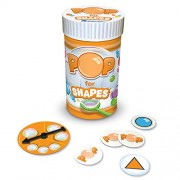 Learning Resources - Pop for Shapes, Gioco per bambini, per imparare a riconoscere le forme [Lingua inglese]