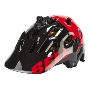 Bell Super 2 MIPS Helmet Black/Red Aggression 52-56 cm Mountainbike Helme
