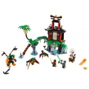 LEGO® NINJAGO 70604 - Schwarze Witwen-Insel