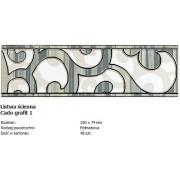 Domino L-Cado grafit 1 25x7,4