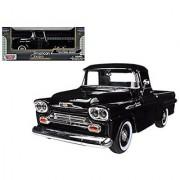 Showcasts 1958 Chevy Apache Fleetside Pickup Truck 1/24 Scale Diecast Model Car Light Blue