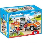 PLAYMOBIL Ambulance with Lights and Sound Playset