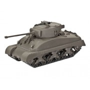 Revell 03196 - Modellino da Costruire - Carro Armato M4A1 Sherman, Scala: 1:72