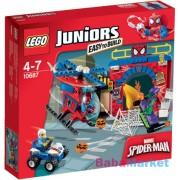LEGO JUNIORS Pókember búvóhelye 10687