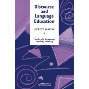 Discourse and Language Education by Evelyn Hatch