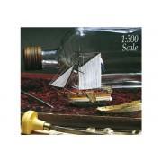 Golden Yacht - Zeilschip in Fles