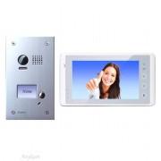 Anykam DT603+ DT27-W Videosprechanlage Türanlage Video Gegensprechanlage 2-Draht