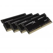 Memorie laptop Kingston HyperX Impact Black 32GB DDR4 2133 MHz CL14 Quad Channel