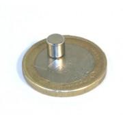 Magnet neodim disc, diametru 5 mm, putere 900 g