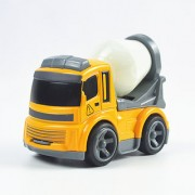 Magideal Mini Cartoon Alloy Engineer Toy Car Construction Model Vehicles Cement Truck