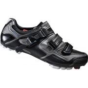 Shimano - Sh-Xc61, Zapatos de Bicicleta de montaña Hombre, Negro (Black)