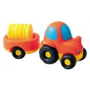 Vroom Planet 750027 - Tractor + Remolque (Smoby)