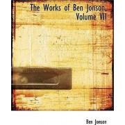 The Works of Ben Jonson, Volume VII by Ben Jonson
