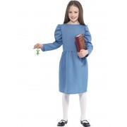 Childs Roald Dahl Matilda Girls Costume - LARGE